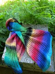 The Ericka Scarf pattern by Gina House - Ravelry
