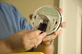 replace battery replace smoke alarm battery