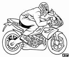 Afbeeldingsresultaat Voor Kleurplaten Racemotor Tekenen