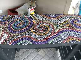 bottle cap furniture. bottle cap table designs tuesday furniture