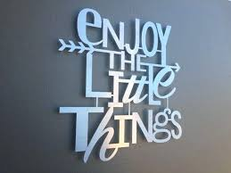metal wall art sayings