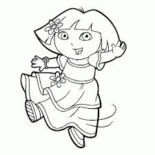Heerlijk 50 Kleurplaat Dora Kleurplaat Voor Kinderen Idee Dora