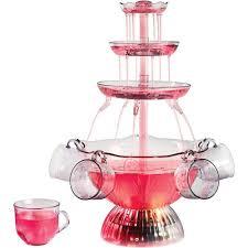 Nostalgia Dbf15wt Innova Deluxe Lighted Beverage Party Fountain Nostalgia Vintage Collection Lighted Party Fountain
