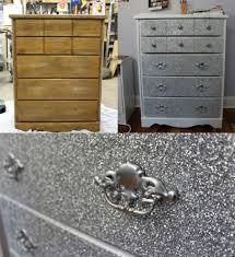 diy glitter furniture. Dresser Makeover With Glitter! #DIY #GLITTER Diy Glitter Furniture O
