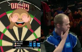 Justin Hood Had Never Before Seen Bust At BDO World Championship 🙈 –  SportVideos.TV