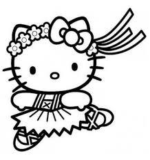 Hello Kitty Che Balla Da Colorare Cose Per Crescere