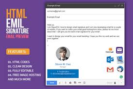 work email signatures create a clickable html email signature email signatures email