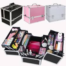 extra large vanity case beauty box make up jewelry cosmetic nail tech storage ebay