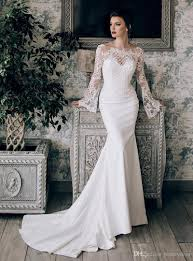 New France Lace Appliques Bridal Dress Wedding Gowns 2017 Stunning
