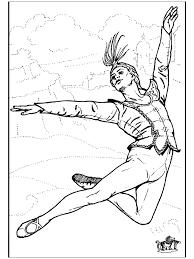 Ballet 8 Kleurplaat Ballet