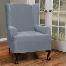 search results for 2 piece wing chair slipcover