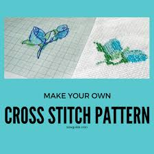 How To Make A Cross Stitch Pattern Enchanting How To Make A Cross Stitch Pattern 48 Easy Ways Sew Guide