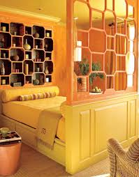 Nice Remarkable Orange Yellow Bedroom Gallery   Best Ideas Interior .