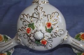 Antiker Kronleuchter Aus Porzellan