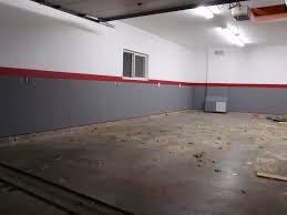 garage inside. Garage Makeover Ideas Inside Wall Paint Adeagua Me
