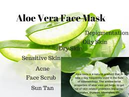 Aloe Vera face mask for Bright And Beautiful Skin   Alluring Soul