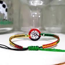 Bob Marley Dream Catcher Bob Marley 100 for 100 ⇨ Rasta Dream Catcher Beaded Bracelet from 83