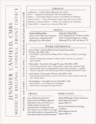Medical Billing Specialist Resume Example Fresh 11 12