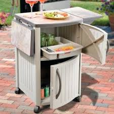 2 awesome outdoor prep station for grilling and 4 diy