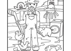 Top 10 Farm Coloring Pages Your Toddler Will Love To Color Inside