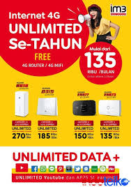 Paket yellow adalah paket internet terbaik, super hemat dgn pengalaman super cepat (kecepatan internet s.d 185 mbps) dari im3 ooredoo. Indosat Dan Huawei Tawarkan Paket Super Plan Setahun