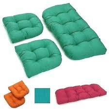 1 of patio furniture cushions garden swing seat pad pillows outdoor bench cushion set chair garden swing chair