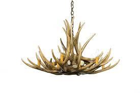 deer antler chandelieriy elk cow horn real for stag excellent mule lighting chandelier chandeliers