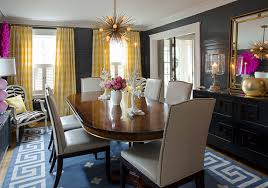 view full size eclectic dining room features black lacquered black lacquer dining room