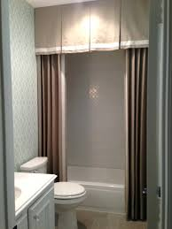 gallery pictures for 6 interiors that are anything but boring shower curtain shower curtain with valance tie back
