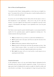 A Proposal Letter 24 How To Write A Proposal Letter Cashier Resume 6