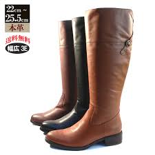 italico myanmar made leather real leather バックベルトロング jockey boots and cowhide leather boots and large size 25 5 cm amp 25 cm side zip boots