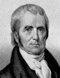 John Marshall was an American jurist. He was born in 1755 at Germantown, Virginia and died ... - John_Marshall