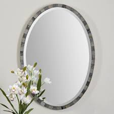 Oval Mirrors Bathroom Oval Bathroom Mirrors Ashton Sutton Large Oval Wrought Iron