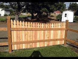 wood fence gate designs ideas for