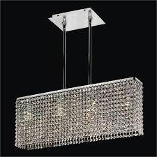 modern rectangular crystal chandelier urban essentials 595em4lsp 3c