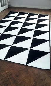 black and white outdoor rug very large in ikea australia