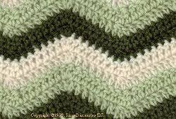 Zig Zag Crochet Pattern Enchanting Easy Ripple Afghan AllFreeCrochet