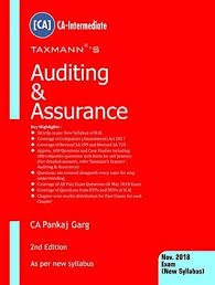 Pankaj Garg Audit Charts Nov 2018 Auditing Assurance Ca Intermediate By Pankaj Garg