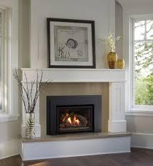 fresh ideas gas fireplace mantels insert surrounds white corner