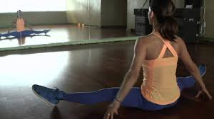 inflexible splits. full-front split stretch tutorial: how to do the straddle \u0026 middle splits - youtube inflexible c