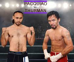 Image result for thurman vs pacquiao