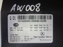 mercedes benz s w fuse box a a  mercedes benz s 320 w221 fuse box a2215400401 a 221 540 04 01