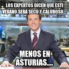 Resultado de imagen de verano asturias meme