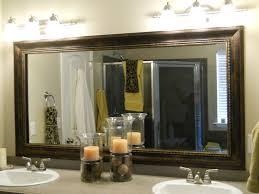 large bathroom mirror frame. Surprising Ideas Bathroom Mirror Frame Kit Modest Decoration Large 3