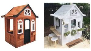 from plain to instagram worthy clever mums have been transforming a kmart cubby house into ones that impress photo kmart instagram
