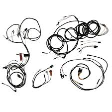 Wiring kit with 3 speed heater gauges v8 coupe convertible 1965