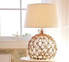 net glass ball lamp