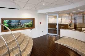office aquarium. large wall office aquarium