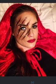 red riding hood had a run in with the big bad wolf