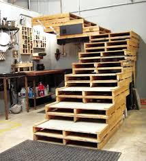 wood skid furniture wooden pallet staircase wooden pallet outdoor furniture  ideas